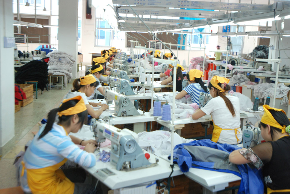 history of garment industry