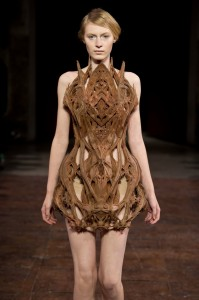 "Iris van Herpen Cathedral Dress ""Micro"" Jan '12"