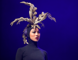 AVEDA Congress headpiece bronze